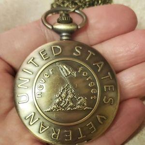 Vet veteran pocket watch